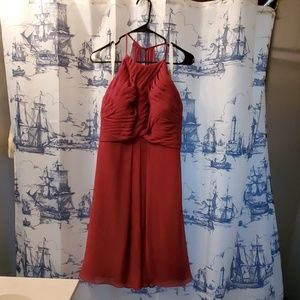 Dresses & Skirts - Azazie Adriana Mulberry Bridesmaid Dress (Size 34)